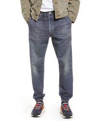 Rag & Bone Miramar jogger - Merest Trompe L'oeil Cotton jogger - Blue