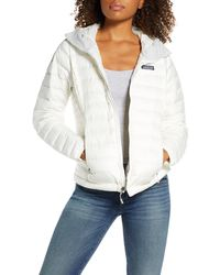 Patagonia - Quilted Water Resistant Down Coat - Lyst