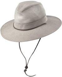 b23f11b065708 Lyst - Dorfman Pacific Panama Jack Safari Excursion Hat in Yellow ...