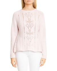 Brock Collection Rosma Cashmere Sweater - Pink