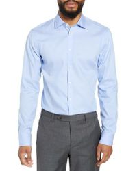 Nordstrom - Extra Trim Fit Non-iron Solid Dress Shirt - Lyst
