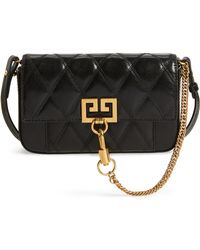 Givenchy - Mini Pocket Quilted Convertible Leather Bag - - Lyst