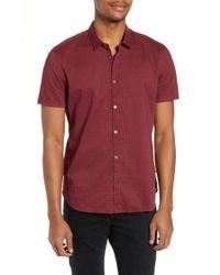 John Varvatos - Regular Fit Foulard Print Sport Shirt - Lyst