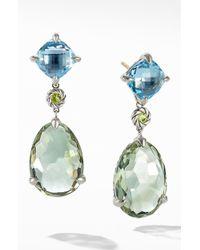David Yurman Chatelaine Drop Earrings - Multicolour