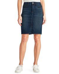 Sam Edelman The Riley Denim Skirt - Blue