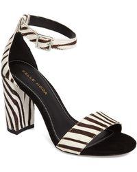 Pelle Moda - 'bonnie' Ankle Strap Sandal - Lyst
