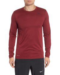 Lyst - Nike  legend 2.0  Long Sleeve Dri-fit Training T-shirt in ... a10aa2405