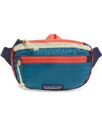 11467e6504e1 Patagonia - Travel Belt Bag - Lyst