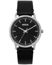 Breda - Zapf Leather Strap Watch - Lyst