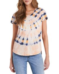 Vince Camuto Tie Dye T-shirt - Multicolor