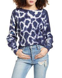 BP. Tie Dye Sweater - Blue