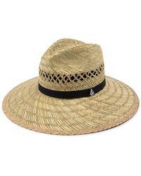 Volcom - Dazey Straw Hat - Lyst