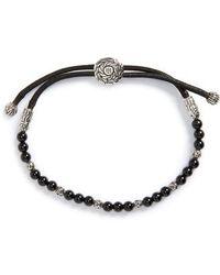 John Hardy - 'classic Chain' Beaded Friendship Bracelet - Lyst