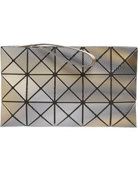 Bao Bao Issey Miyake - Phase Faux Leather Wristlet - Metallic - Lyst