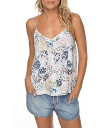 Roxy - Fantasy Earth Flowy Camisole - Lyst