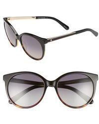 Kate Spade | 'amayas' 53mm Cat Eye Sunglasses | Lyst