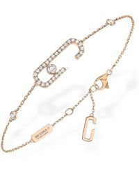 Messika - Move Addiction By Gigi Hadid Diamond Pavé Line Bracelet - Lyst