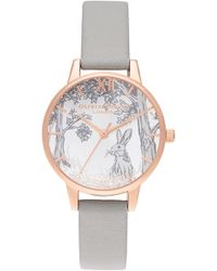 Lyst Urban Outfitters Globe Watch In Brown
