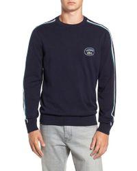 Lacoste - Heritage France Crewneck Sweater - Lyst