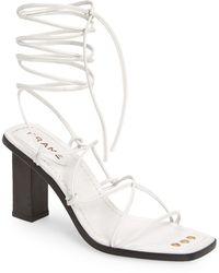 FRAME Le Doheny Strappy Sandal - White