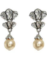 Ben-Amun - Faux Pearl Drop Earrings - Lyst