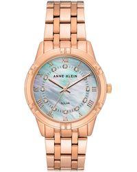 Anne Klein - Considered Solar Bracelet Watch - Lyst