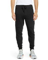 Alo Yoga Moto Sweatpants - Black