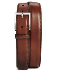 Magnanni - Catania Leather Belt - Lyst