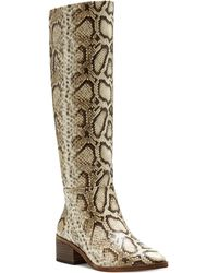 Vince Camuto Beaanna Knee High Boot - Natural