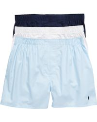 Polo Ralph Lauren 3-pack Boxers, Blue