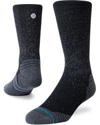Stance Run Crew Socks - Black