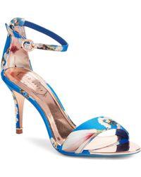 Ted Baker - Mavbe Ankle Strap Sandal - Lyst