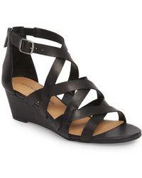 Lucky Brand - Jewelia Wedge Sandal - Lyst