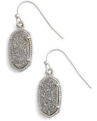 Kendra Scott | Lee Small Drop Earrings | Lyst