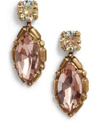 Sorrelli - Adorned Marquise Drop Earrings - Lyst