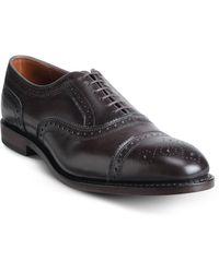 Allen Edmonds - Strand Cap-toe Leather Dress Oxfords - Lyst