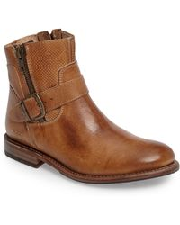 Bed Stu Becca Buckle Boot - Brown
