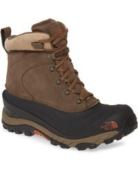 The North Face Chilkat Iii Waterproof Insulated Boot - Brown