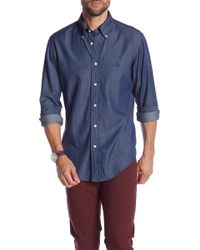 Brooks Brothers - Denim Regent Fit Shirt - Lyst