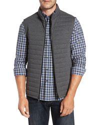 Robert Barakett Gallagher Reversible Vest - Gray