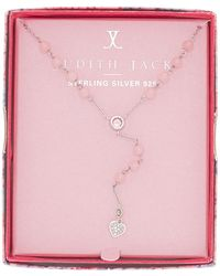 Judith Jack - Sterling Silver Inspire Me Boxed Heart Pendant Y-necklace - Lyst
