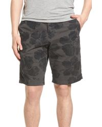 Lucky Brand - Hibiscus Print Shorts - Lyst
