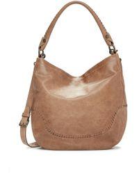 Frye - Melissa Whipstitch Leather Hobo Bag - Lyst