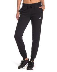 adidas Essentials Slim Tapered Cuffed Pants - Black