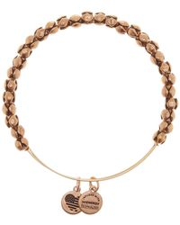 ALEX AND ANI - Traveller Beaded Bangle - Lyst