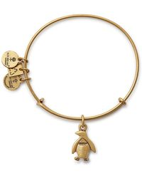 ALEX AND ANI - Charity By Design Association For Zoos Charm Expandable Wire Bangle Bracelet - Lyst