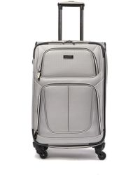 "Kenneth Cole Lincoln Square 25"" Expandable 4-wheel Upright Suitcase - Metallic"