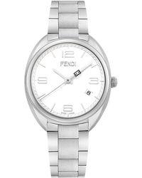 Fendi Women's Momento Swiss Quartz Bracelet Watch, 34mm - White