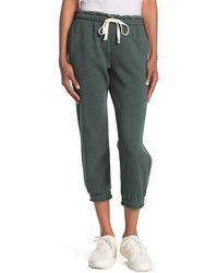 Project Social T Drawstring Fleece Sweatpants - Green