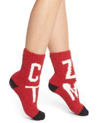 Pj Salvage   Plush Socks   Lyst